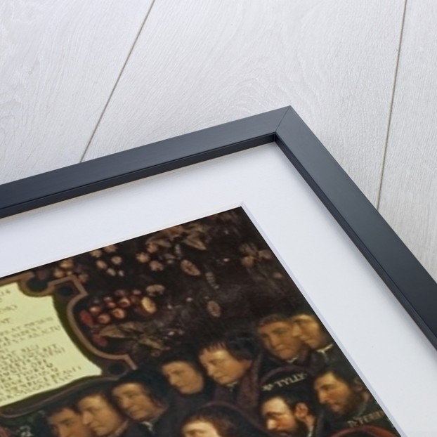 Henry VIII handing over a charter to Thomas Vicary, commemorating the joining of the Barbers and Surgeons Guilds, 1541 by Hans Holbein the Younger