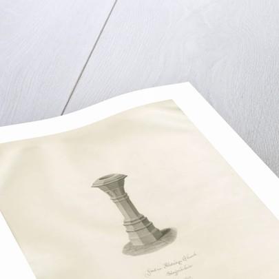Font in Aldridge Church by John Buckler