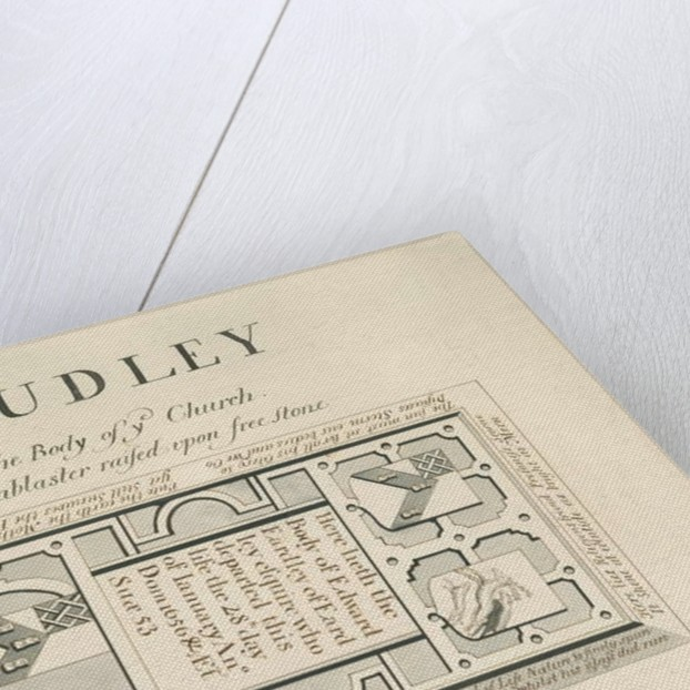 Audley Monuments - 'Edward Eardley' by John Robert Fernyhough