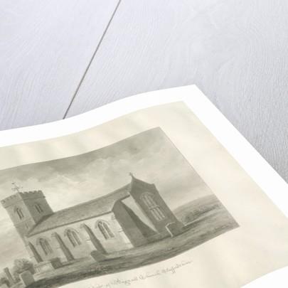 Bagnall Church by John Buckler