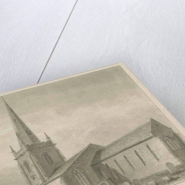 Brewood Church by John Buckler
