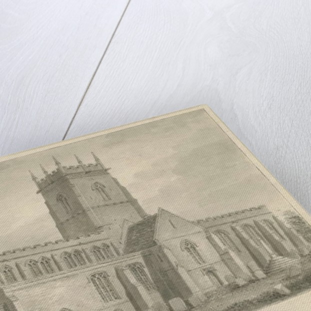 Gnosall Church by John Buckler