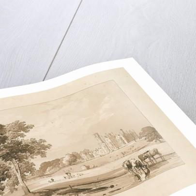 'Thickbroom Hall' [Manley Hall] by Thomas Peploe Wood