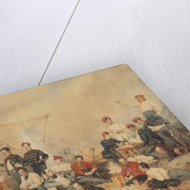Hussar's Carouse, 1873 by Mihaly von Zichy
