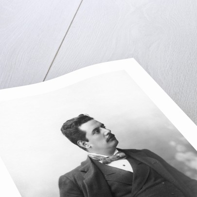 Portrait of Giacomo Puccini by Italian Photographer