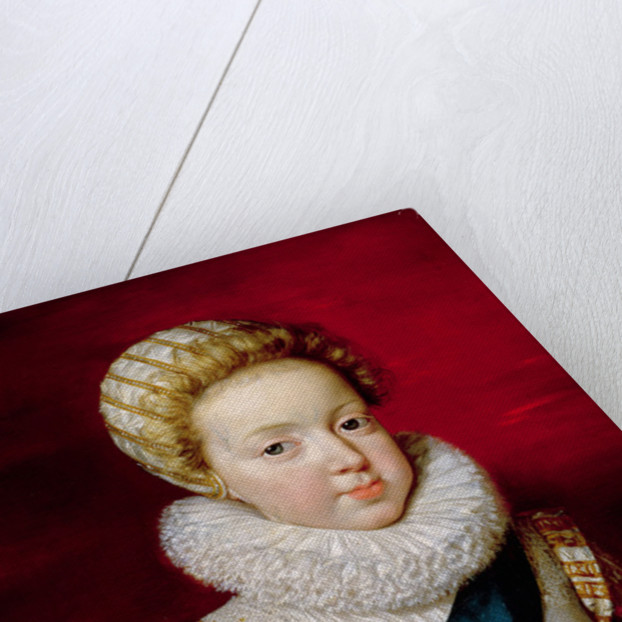 Gaston d'Orleans as a Child by Frans II Pourbus