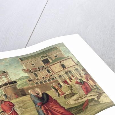 The Visitation by Vittore Carpaccio