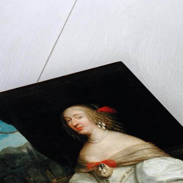 Portrait of Anne-Marie-Louise d'Orleans Duchess of Montpensier by Louis Ferdinand Elle