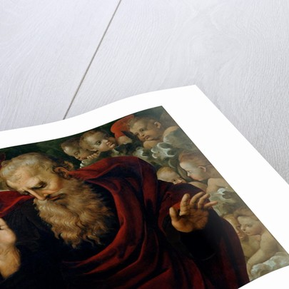 God the Father Blessing by Raphael