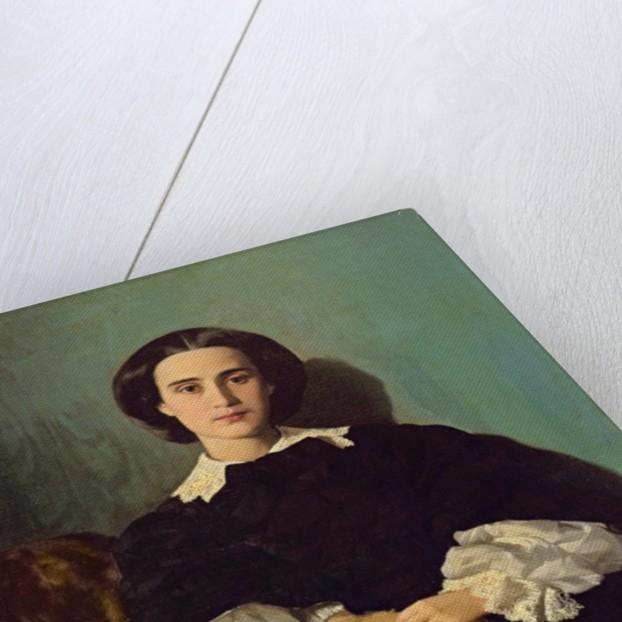 Portrait of the Contessa G. Tempestini by Antonio Puccinelli