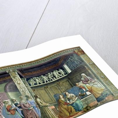The Birth of the Virgin by Domenico Ghirlandaio