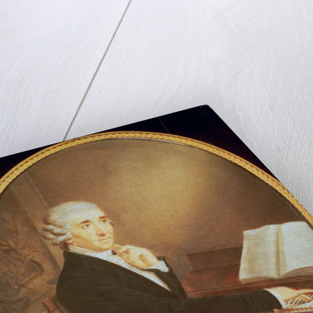Joseph Haydn by Johann Zitterer