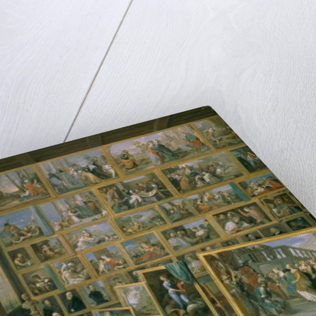 The Archduke Leopold Wilhelm in his Picture Gallery in Brussels by David the Younger Teniers