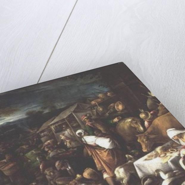 Annual Fair by Francesco Bassano