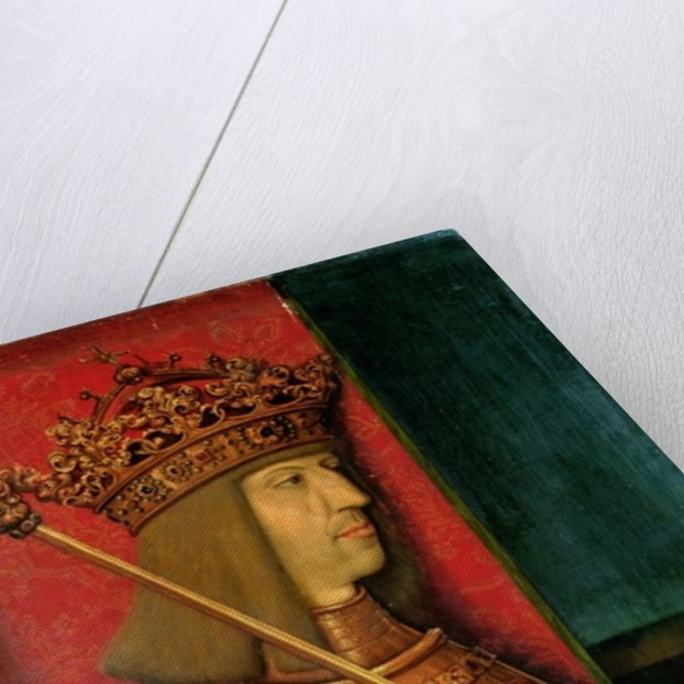 Emperor Maximilian I by Bernhard Strigel