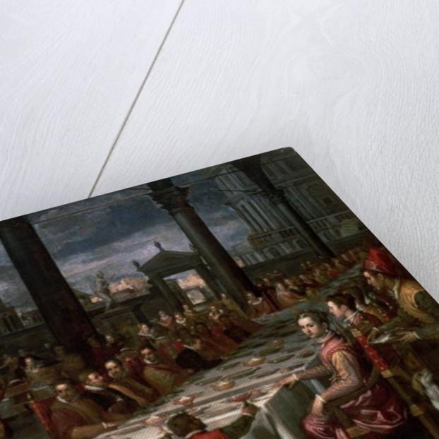 Wedding banquet of Grand Duke Ferdinand I of Tuscany by Domenico Cresti Passignano