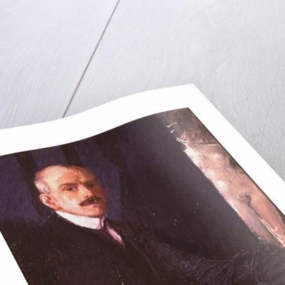 Self portrait by Max Kurzweil