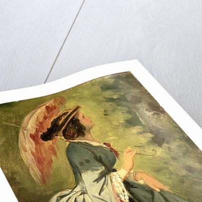 Portrait of Anna, the artist's daughter by Moritz Ludwig von Schwind