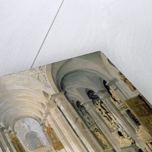 Interior of a Church by Francois de Nome