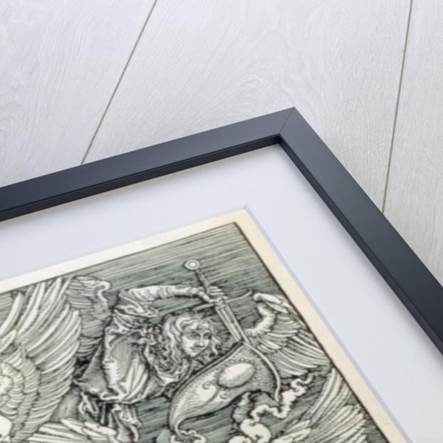 St. Michael Battling with the Dragon by Albrecht Dürer or Duerer