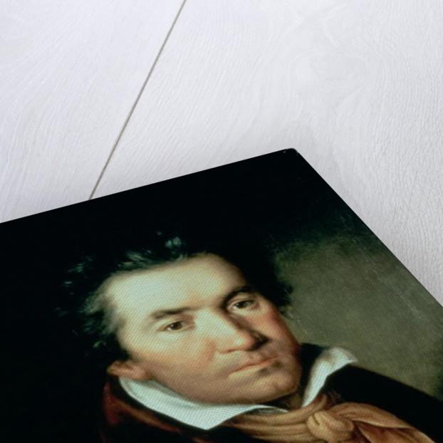 Ludwig van Beethoven by German School