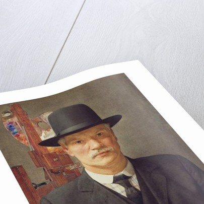Self Portrait, 1914-16 by Benjamin Williams
