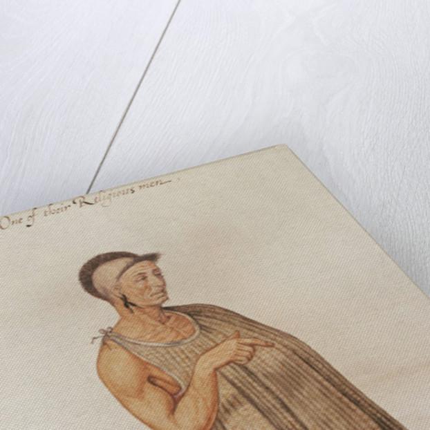Religious Man of Pomeiooc by John White