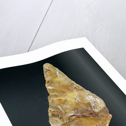 Acheulean Hand Axe by Paleolithic