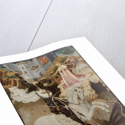 Saint George Killing the Dragon, 1434-35 by Bernardo Martorell