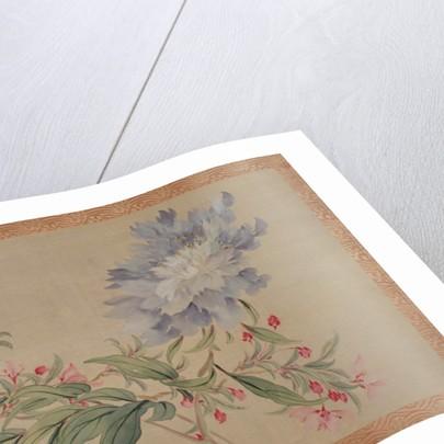 Blossom and a flower, 1851 by Tsubaki Chinzan
