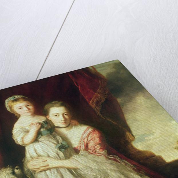 Georgiana, Countess Spencer with Lady Georgiana Spencer by Sir Joshua Reynolds