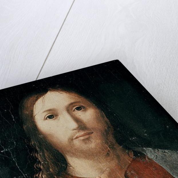 Cristo Salvator Mundi by Antonello da Messina