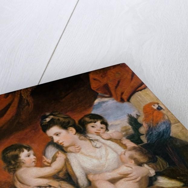 Lady Cockburn and her Three Eldest Sons by Sir Joshua Reynolds