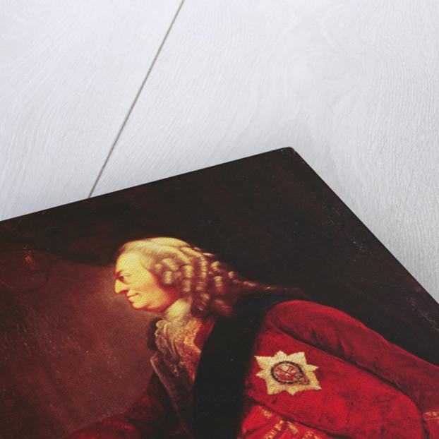 Portrait of King George II by English School