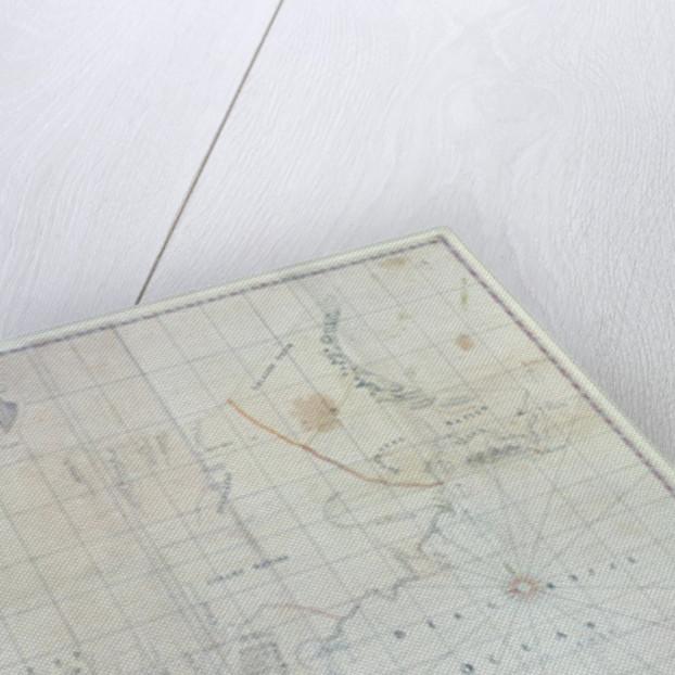 Map of Siberia by German School