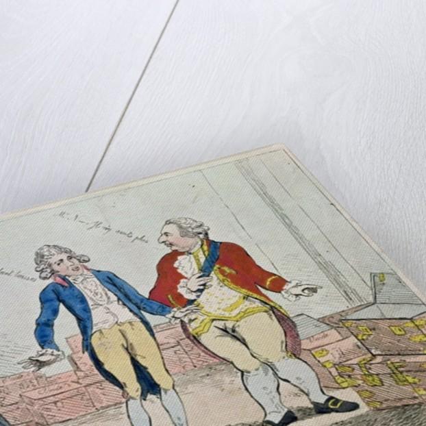Le Deficit by Isaac Cruikshank