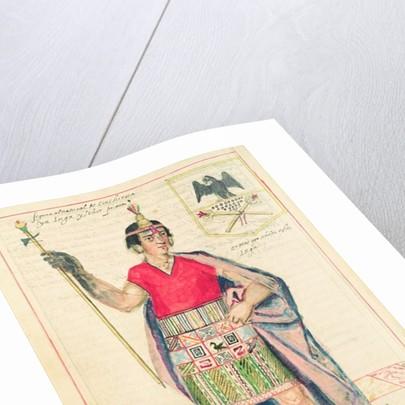 Illustration of Cincheroca by Spanish School