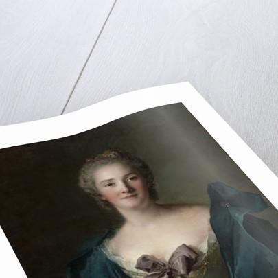 Portrait of a Woman, c.1748 by Jean-Marc Nattier