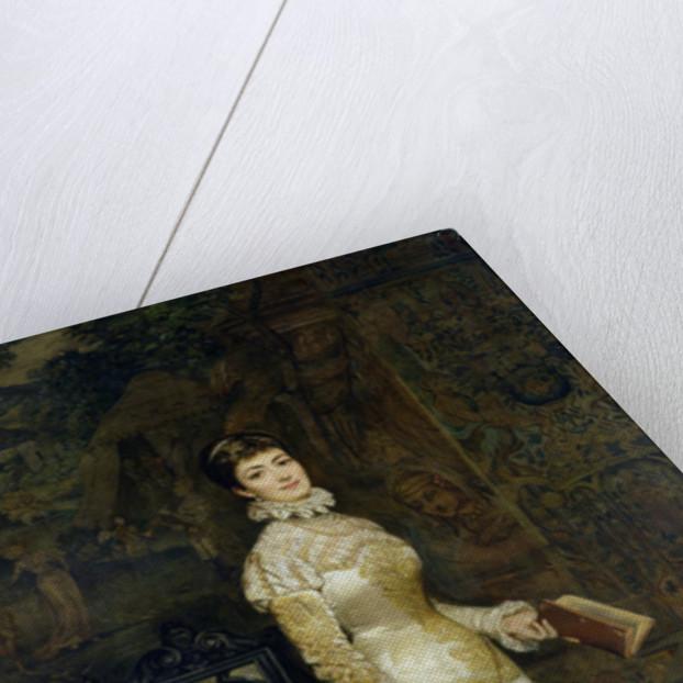 Portrait of Helena Modrzejewska by Tadeusz Ajdukiewicz