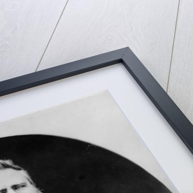 Portrait of German novelist Fritz Reuter by German Photographer