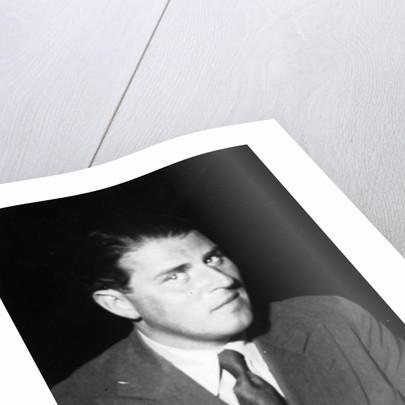 Portrait of German writer Carl Zuckmayer by German Photographer