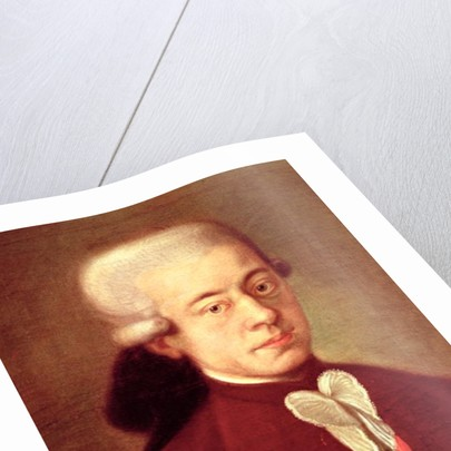 Portrait of Wolfgang Amadeus Mozart by Italian School