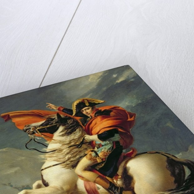 napoleon crossing the alps painting david Napoleon crossing the alps at mont saint bernard why would david paint napoleon and crossed the alps on a mule napoleon requested to be.