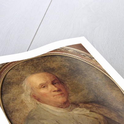 Portrait of Benjamin Franklin by Joseph Siffred Duplessis