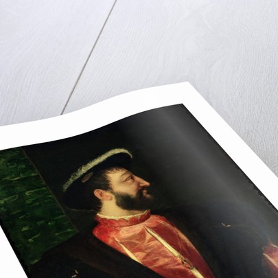 Portrait of Francis I by Titian