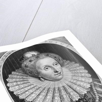 Elizabeth I, Queen of England by Hendrik I Hondius