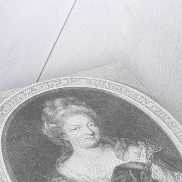 Antoinette Du Ligier de la Garde Deshoulières by Pierre Louis van Schuppen