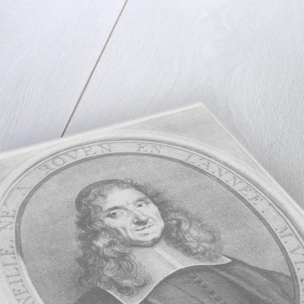 Pierre Corneille by Guillelmus Vallet