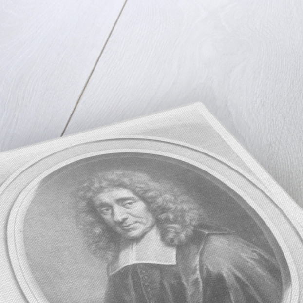 Antoine Furetière by Gerard Edelinck