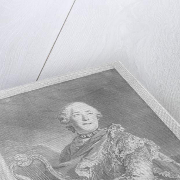 Pierre Jélyotte by Louis Jacques Cathelin
